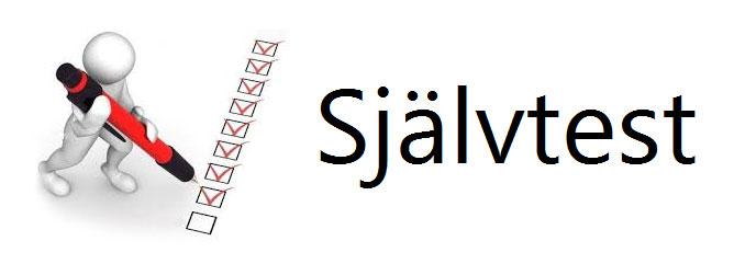 Självtest logo